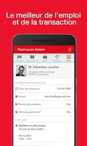 Le Moniteur des pharmacies.fr screenshot 2