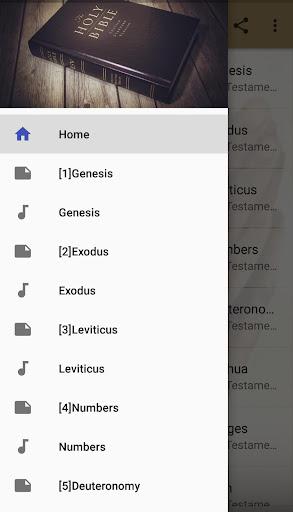 King James Audio - KJV Bible Free 3.6.1 screenshots 1