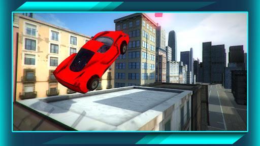 クラシックな車シティレース 3D