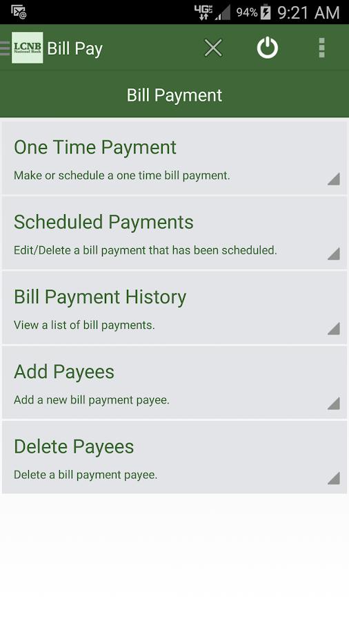 LCNB Mobile- screenshot