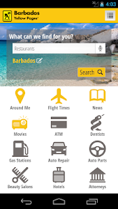 Barbados Yellow Pages screenshot 2