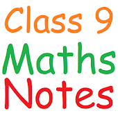 Class 9 Maths Notes