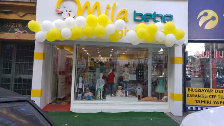 location of baby clothing store