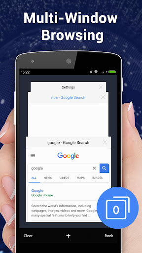 Browser for Android 1.3.3 screenshots 8