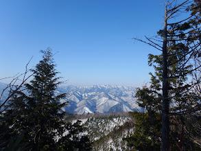 清見の山々