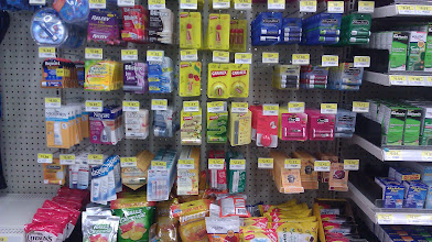 Photo: While heading over to the nutritional section we looked at some lip stuff for the seasons chapped lips!