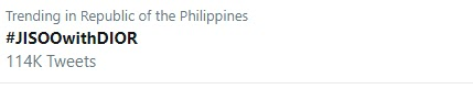 jisoo trending