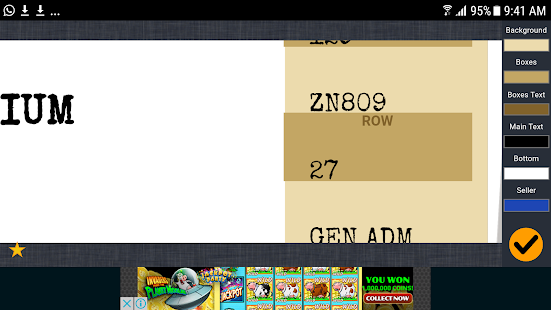 Fake Concert Ticket Generator Ticket Maker Android Apps on – Ticket Maker
