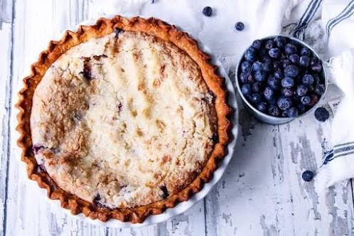Blueberry Cream Pie (Jess's Gramma)