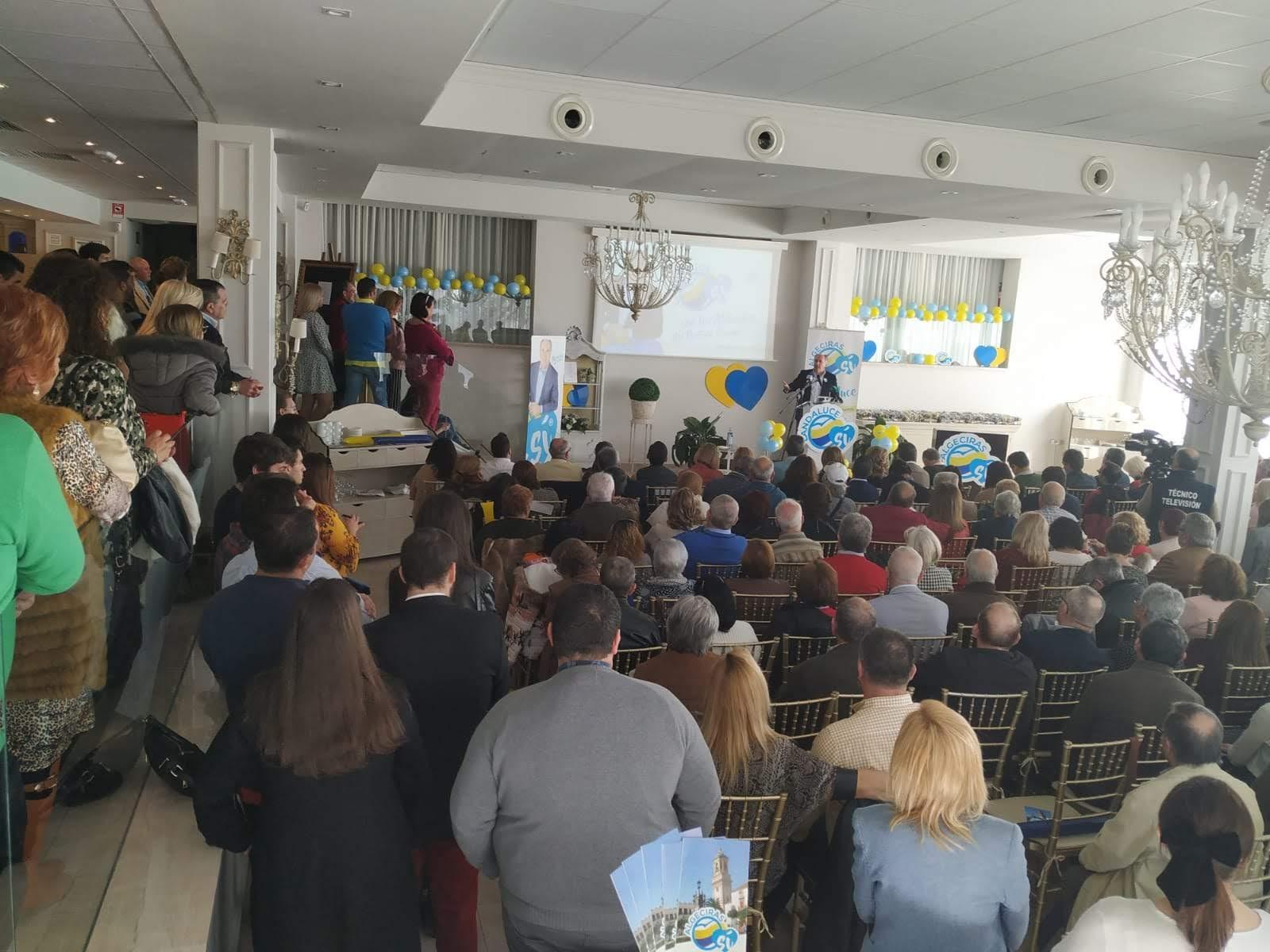 El PP de Algeciras celebra su convivencia anual y pone en valor el trabajo y la dedicación de todos los afiliados
