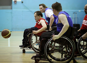 Photo: Photo taken during match between CELTS 2 and Harriers 2 at Talybont Sports Centre, Cardiff Uni on 25 January 2015
