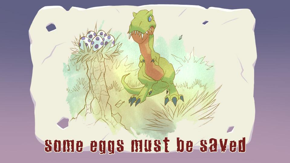 T-Rex Eggs in trouble- screenshot