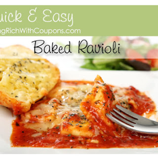 Quick, Easy.. and Tasty Baked Ravioli