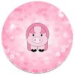 XP Theme Beauty Pink Pig APK