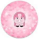 XP Theme Beauty Pink Pig Icon