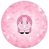 XP Theme Beauty Pink Pig