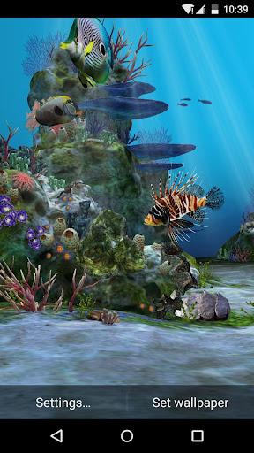 3D Aquarium Live Wallpaper HD 1.3.6 screenshots 6