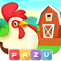Farm games for toddlers icon