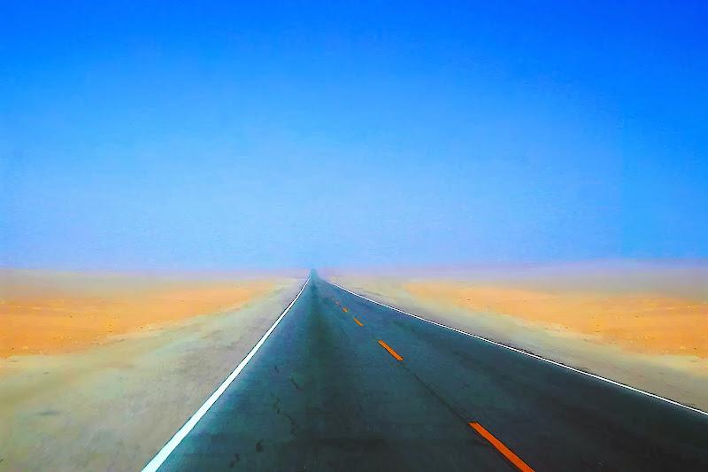 Una strada della Namibia di linobeltrame