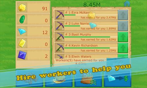 Idle Gold gem clicker  screenshots 14