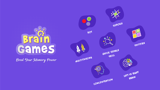 Brain Games : Logic, Tricky and IQ Puzzles android2mod screenshots 1