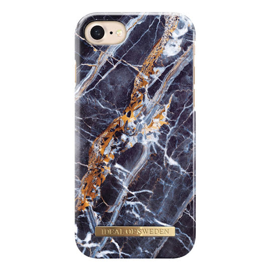 iDeal Fashion Case iPhone 6/6s/7/8 Plus Blå Marmor