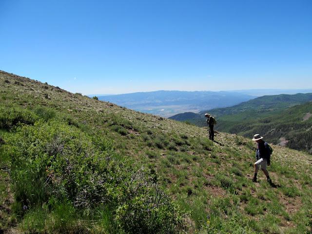 Ken and Paul nearing the peak
