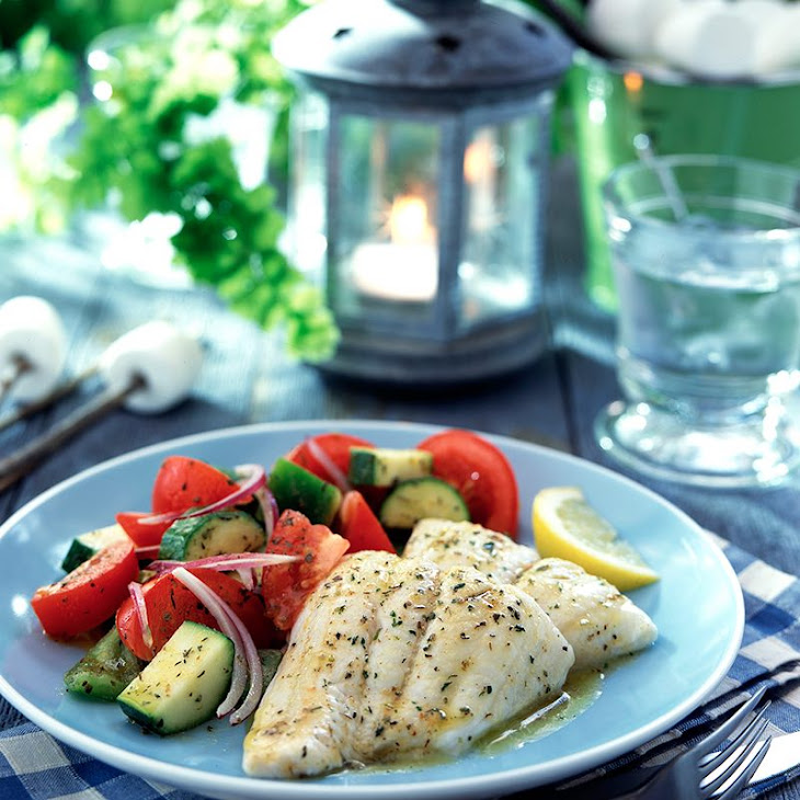 Tilapia with Savory Herb Butter Recipe