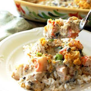 Seafood Casserole.
