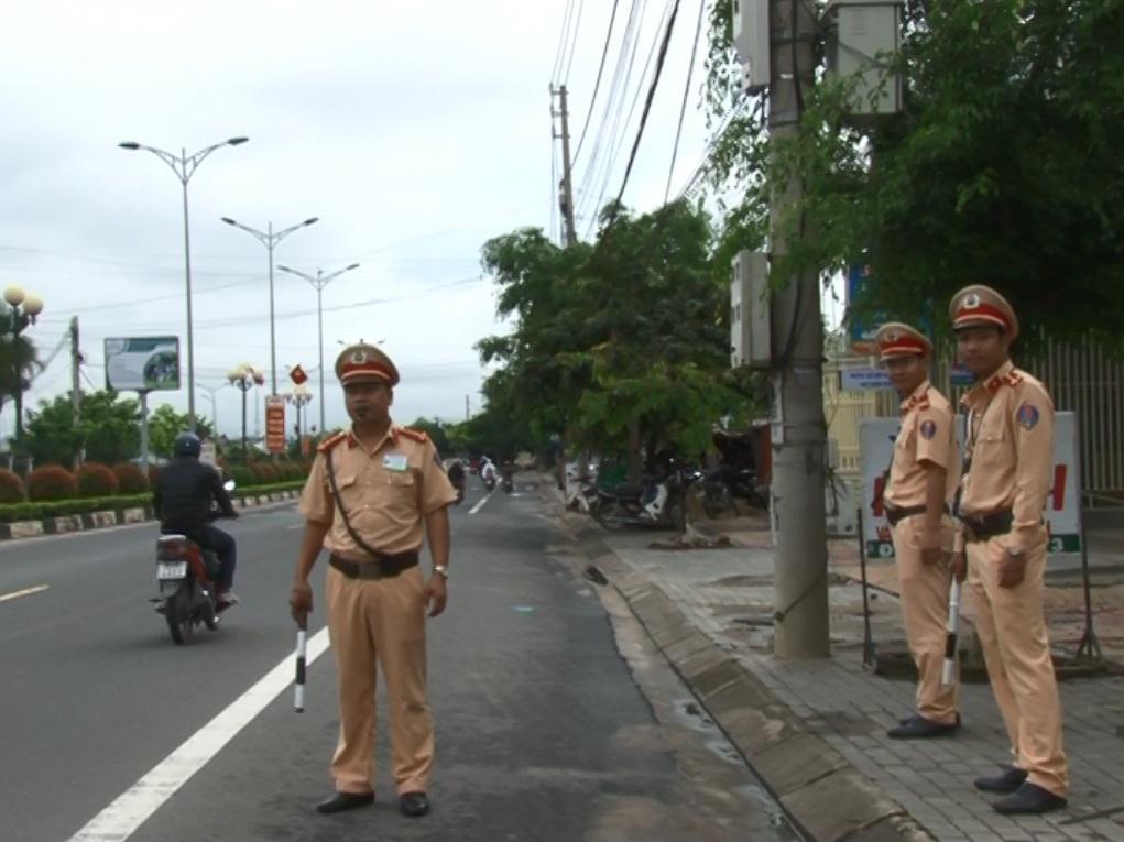 Công an tỉnh mở đợt cao điểm đảm bảo trật tự an toàn giao thông trong các ngày Lễ