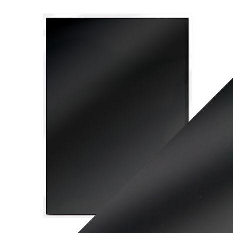 Tonic Studios Craft Perfect Mirror Card A4 250gm - Black Velvet Satin