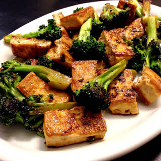 Tofu Broccoli Stir fry.