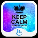 Cool Keep Calm Keyboard Theme icon
