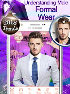 Mens Suit Photo Editor 2018 - náhled