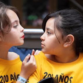 Friends by VAM Photography - Babies & Children Children Candids ( street, culture, girls, parade, people, friends,  )