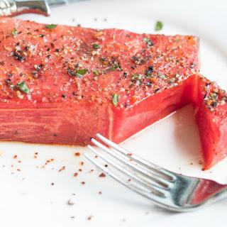Roasted Watermelon Steak Recipe