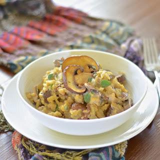 Garlic Mushroom Risotto