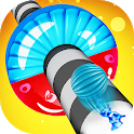 Helix Road : color ball rush icon