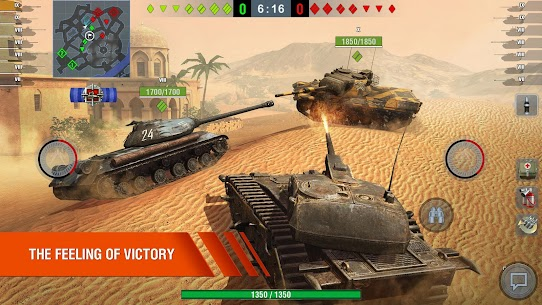 World of Tanks Blitz MMO MOD Apk 6.10.0.573 (Unlimited Gold) 1