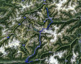 Photo: Dzień kończę kawałek za przełęczą Aprica.