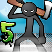Anger of stick 5 : zombie v1.1.8 APK MOD