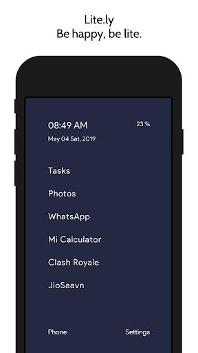 Litely - Light Phone Launcher screenshots 2