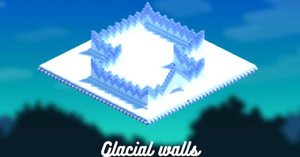 Glacial walls