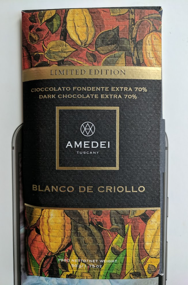 70% amedei blanco criollo bar