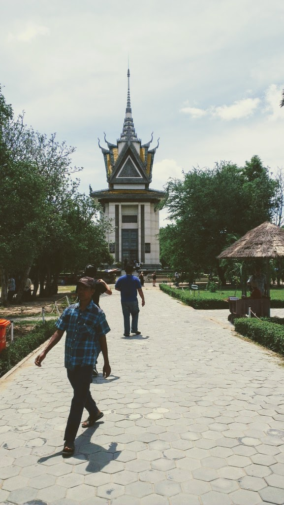 Visiting the Killing Field at Pnhom Penh is a must