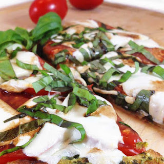 Caprese Pesto Pizza