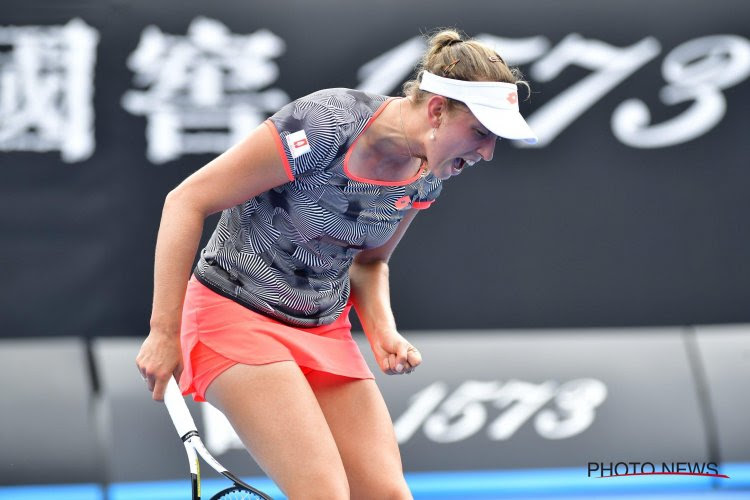 Elise Mertens naar achtste finales Australian Open na sterke eerste en derde set