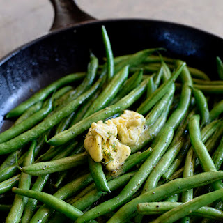 Skillet Green Beans with Dill Herbed Butter Recipe