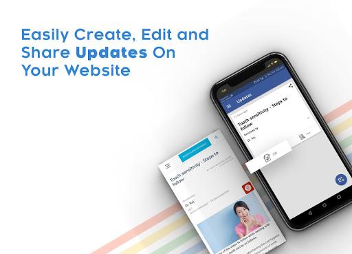 Instant Website Builder With Store: Websites.co.in 2.36 Screenshots 18