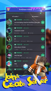 Multiplayer Za Minecraftu APK screenshot thumbnail 2